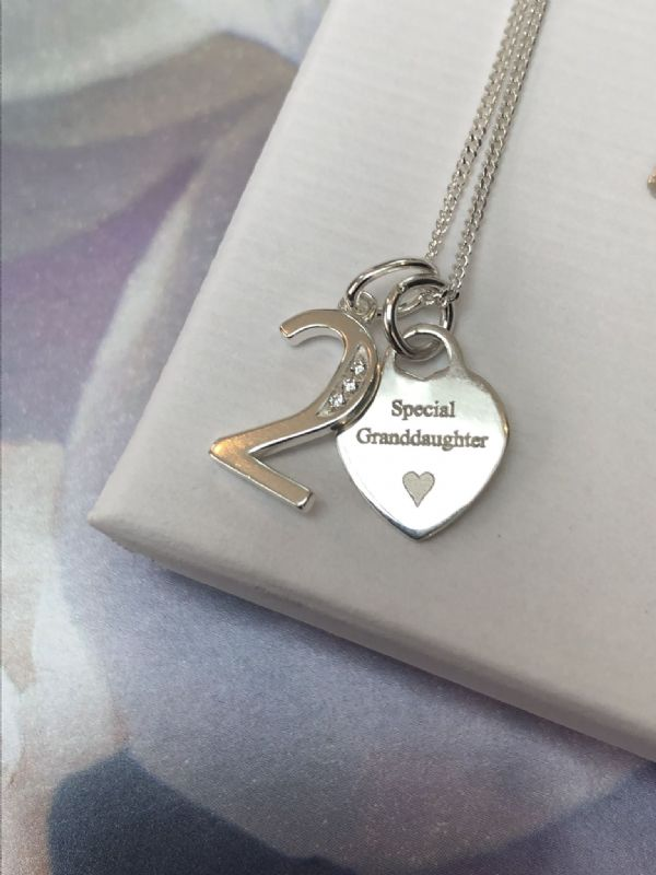 2nd birthday jewellery gift  - FREE ENGRAVING